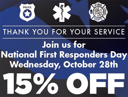 National First Responders Day